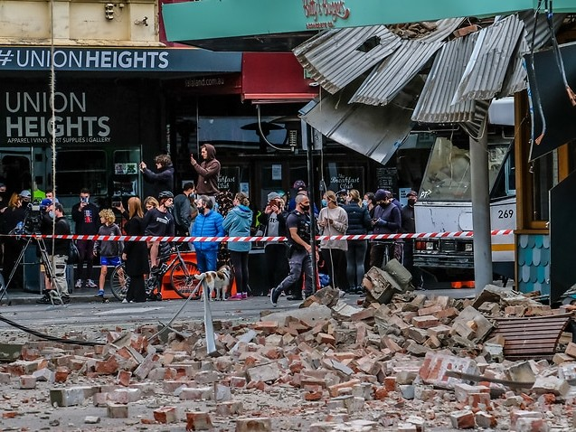 Ten aftershocks recorded following historic Victorian earthquake