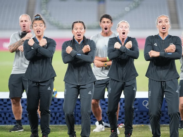 New Zealand's Women's Rugby Team Celebrated Their Gold Medal Win With an Emotional Haka