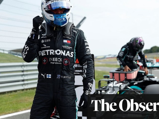 Valtteri Bottas pips Lewis Hamilton to pole for F1's 70th Anniversary GP