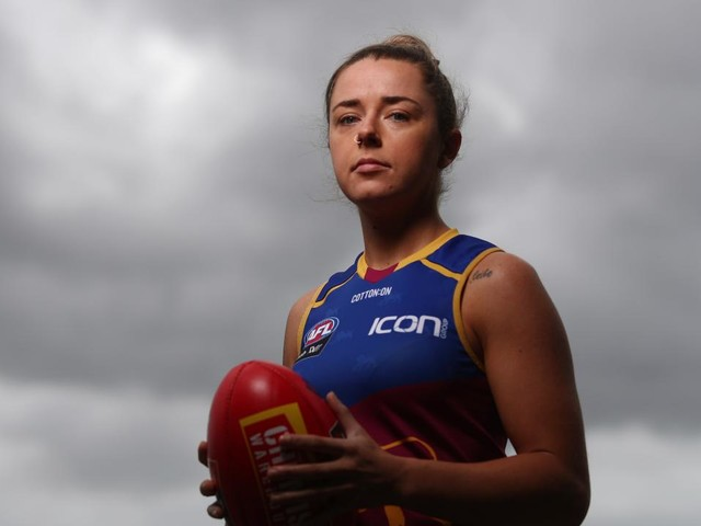 Brisbane's biggest AFLW star Jess Wuetschner struck by lightning. But she's recovering well — and could still play Round 1