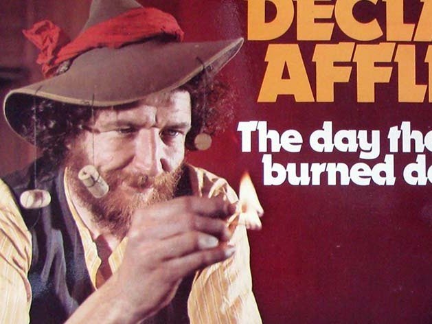 "Declan Affley ""The Day the Pub Burned Down"" LP 1974"
