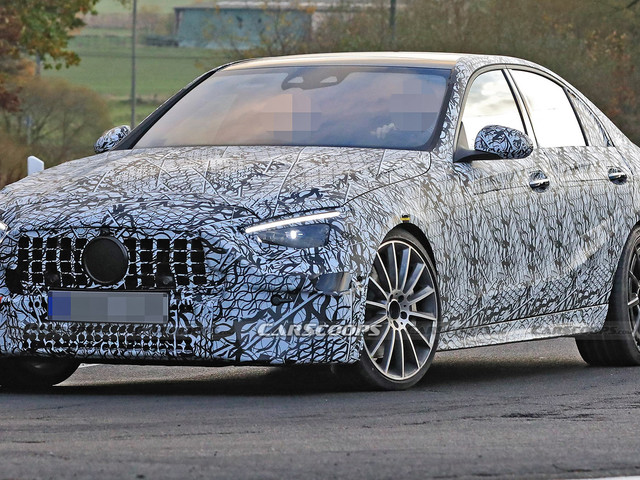 Next-Generation Mercedes-AMG C43 To Look Like A Baby E-Class