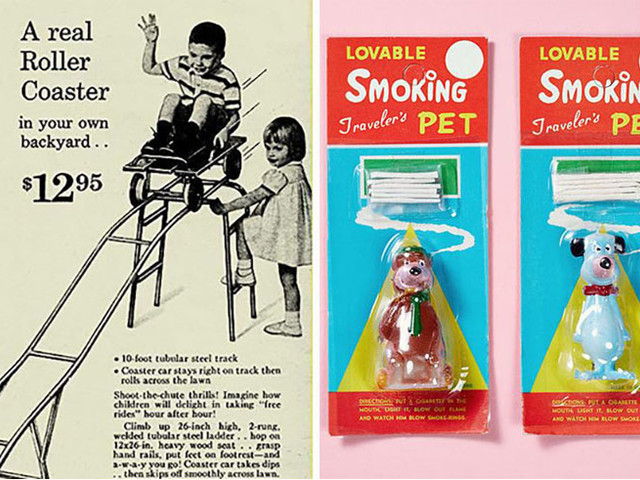 Oh no, they didn't! 16 wildly inappropriate vintage kids' products