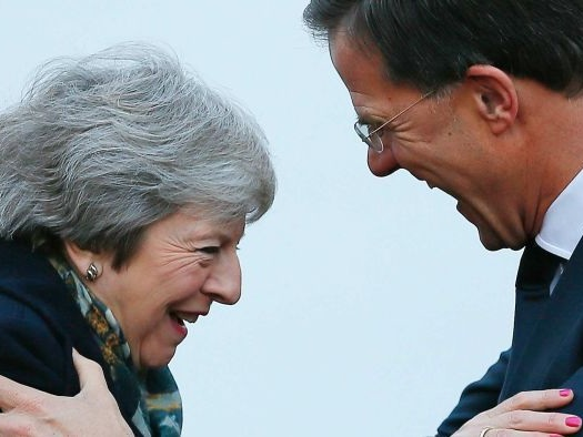 Desperate May flies to Europe with little hope of Brexit renegotiation