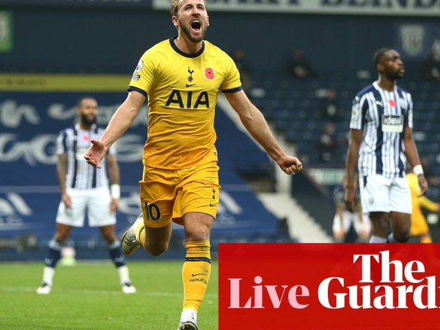 West Brom v Tottenham Hotspur: Premier League – live!