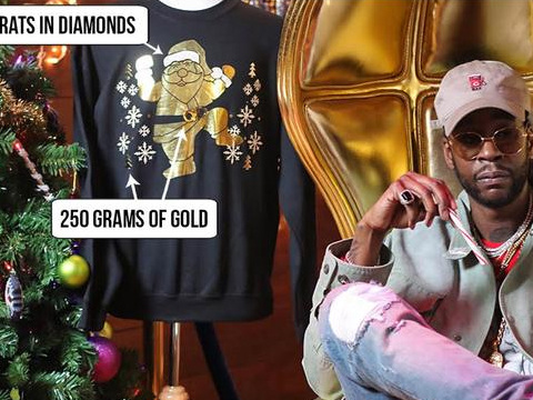 2 Chainz Is Selling The Most Expensive Ugly Christmas Sweater