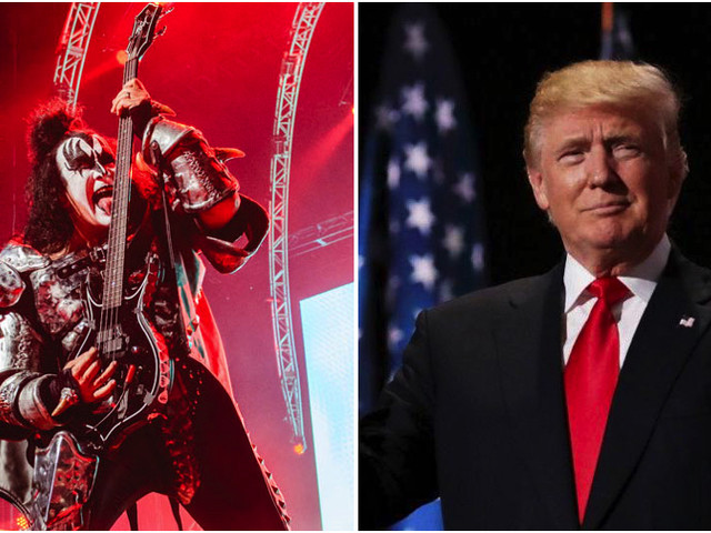 "KISS ""Politely Declined"" Invitation To Play Donald Trump's Inauguration, Says Gene Simmons' Wife"