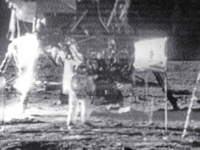 NASA marks exact moment of Moon landing 50 years ago