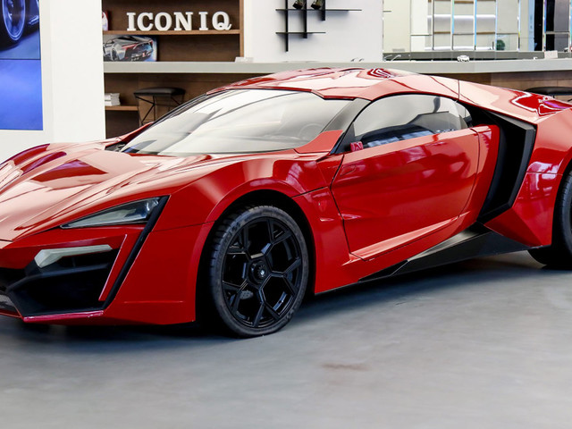 This Lykan Hypersport Stunt Car From Fast And Furious Is Being Sold As An NFT