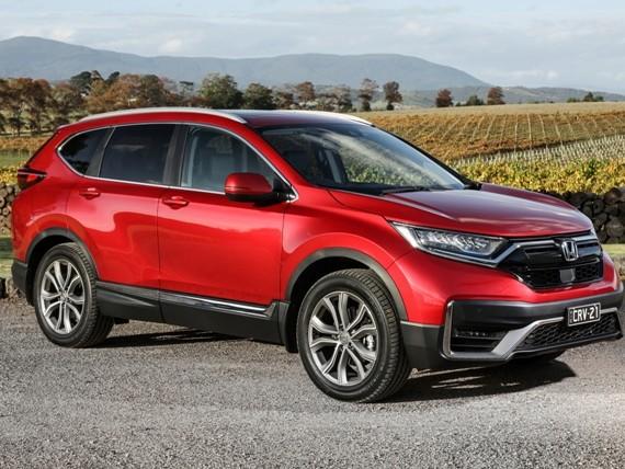 Honda CR-V Gets Ready For 2021.