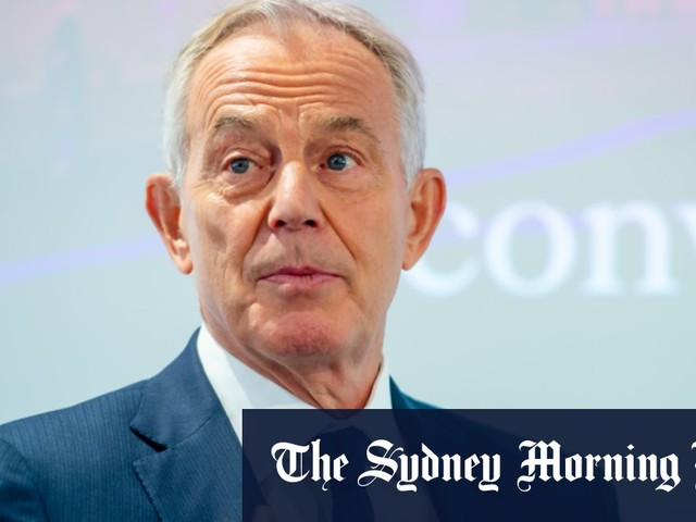 Progressive politics is facing extinction: Tony Blair