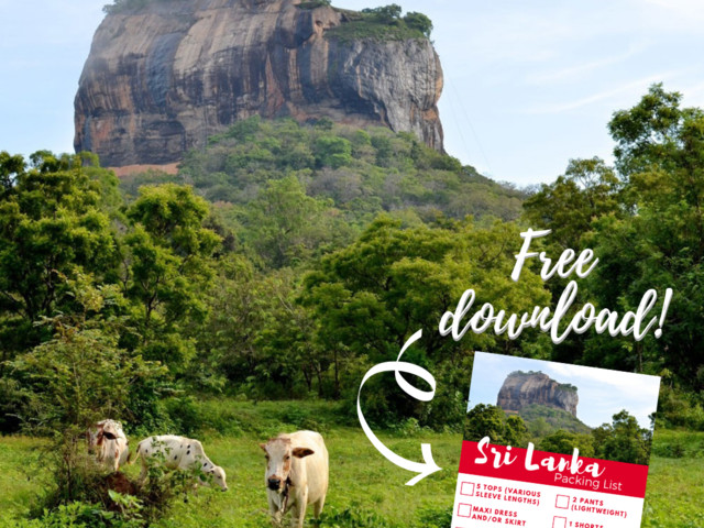 What to pack for your trip to Sri Lanka [+ Downloadable Packing List]