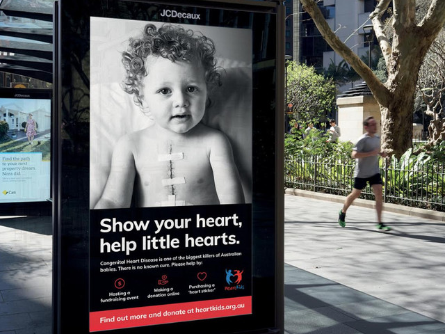 HeartKids encourages Australians to 'show your heart' in latest campaign