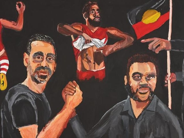 'It only took 99 years': Vincent Namatjira becomes the first Aboriginal artist to win the Archibald Prize