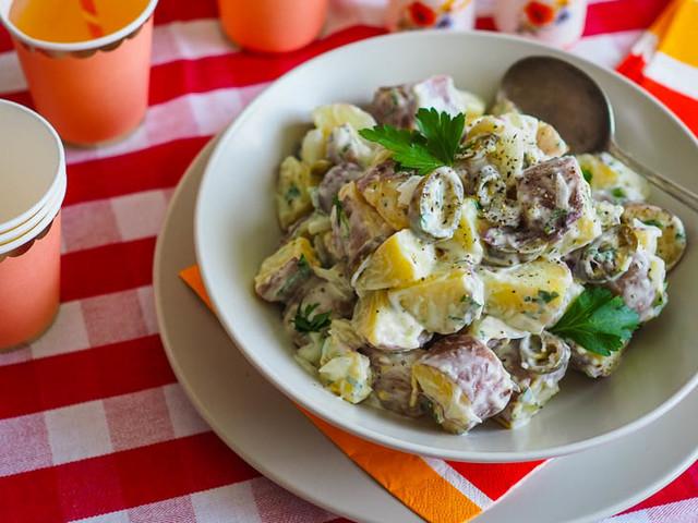SUMMERY Jalapeno Potato Salad