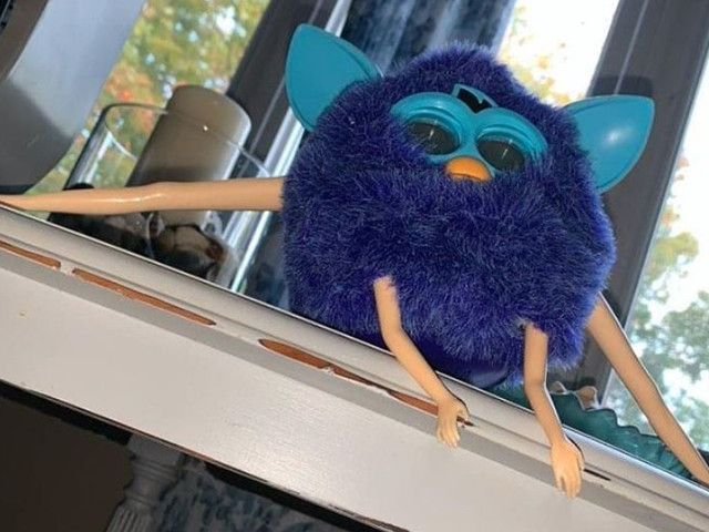 Gaze Upon These Cursed Furbies And Fear The God That Created Them