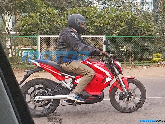 Revolt Electric Bike Spotted Undisguised