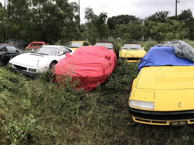 How Could ANYONE Let 11 Classic Ferraris To Die On A Field?