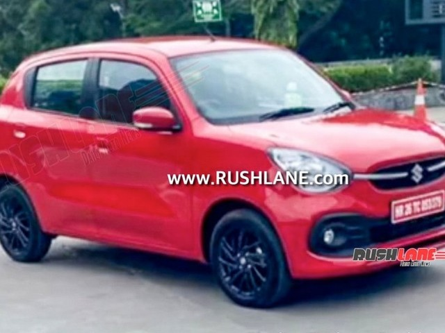 2022 Maruti Celerio Spied Undisguised, To Be Launched This Month?
