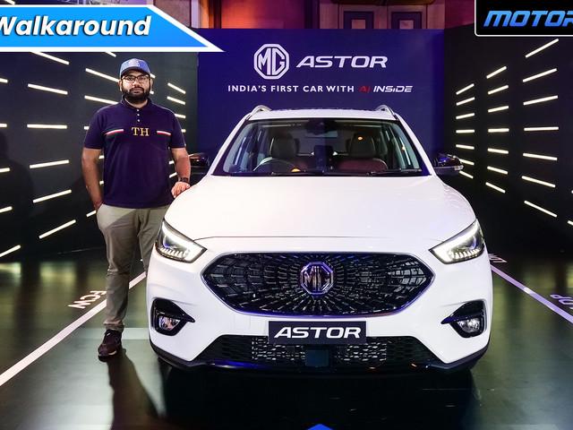 MG Astor Walkaround In Hindi [Video]