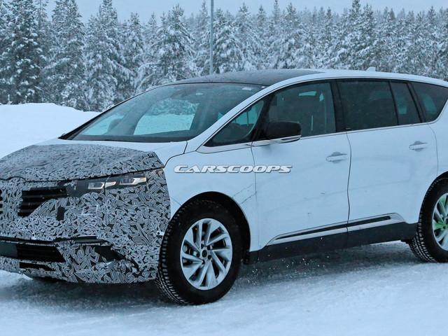 Facelifted Renault Espace Spotted Near Arctic Circle