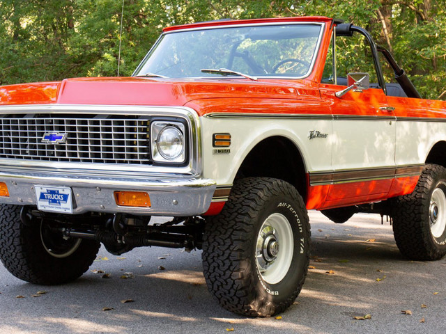 Restored 1972 Chevrolet K5 Blazer Is Good Old American Iron