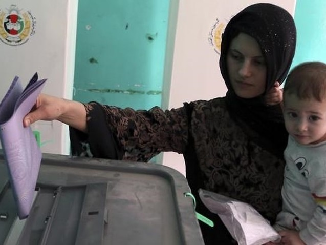 Casualties surge on Afghanistan's second day of voting