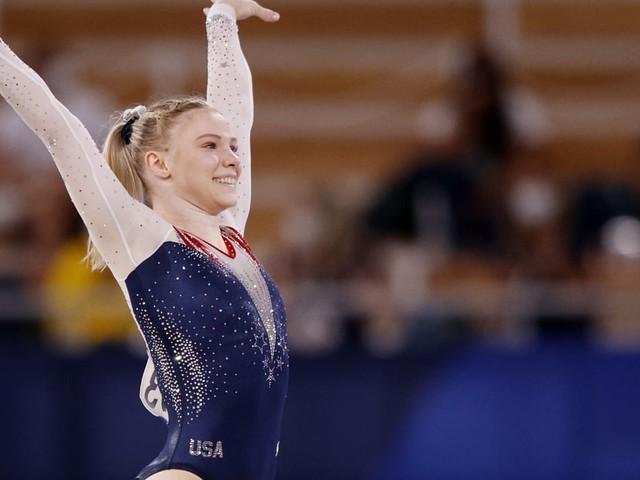 Jade Carey Flies High to Claim Gold in the Olympic Women's Gymnastics Floor Final