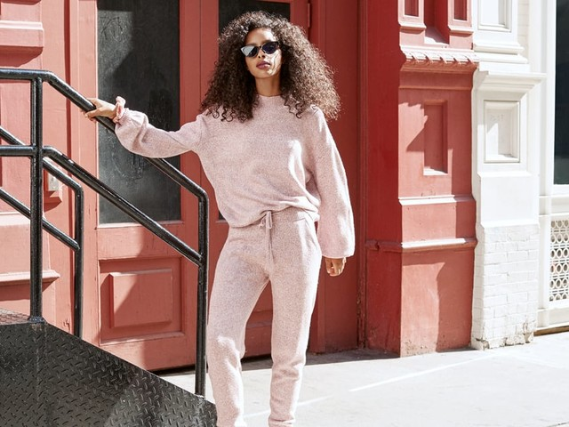 2 Comfy-Chic Loungewear Sets You'll Live in All Winter (and They're on Sale!)
