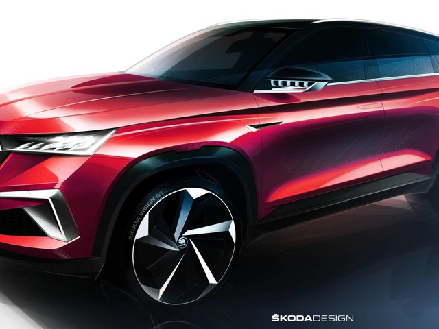 New Skoda Vision GT Concept Teased, Could Preview Kamiq GT For China