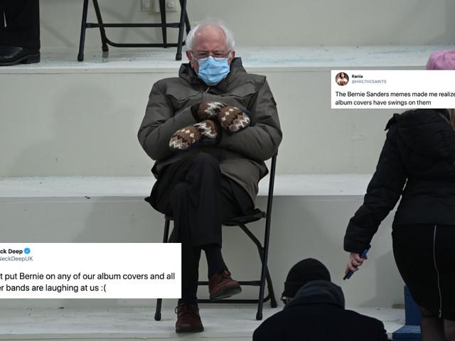 The Best Of Bernie Sanders' Album Cover Memes