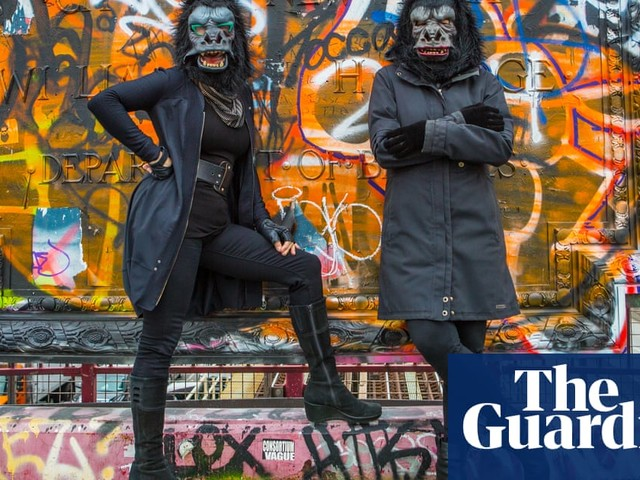 The Guerrilla Girls: 'We upend the art world's notion of what's good and what's right'