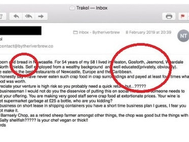 Brutal comeback to 'very rude' email