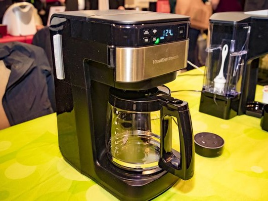 CES 2019: Alexa will command Hamilton Beach's new drip coffee maker - CNET