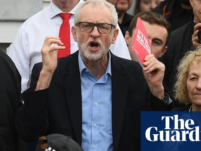 Leaked NHS documents controversy is nonsense, says Corbyn