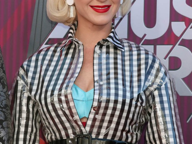 A.I. Katy Perry at the iHeartRadio Music Awards