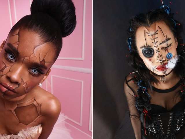 4 Ghoulish Halloween Makeup Looks You Can Create - Using Only Drugstore Products