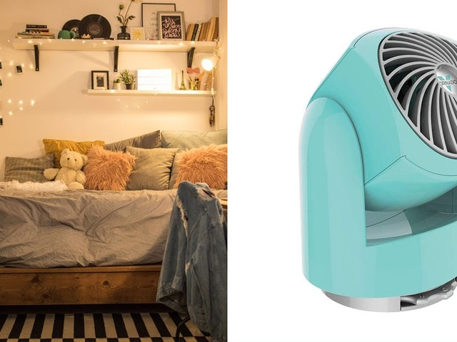 10 Cute and Compact Fans That Are Perfect For Your College Dorm Room