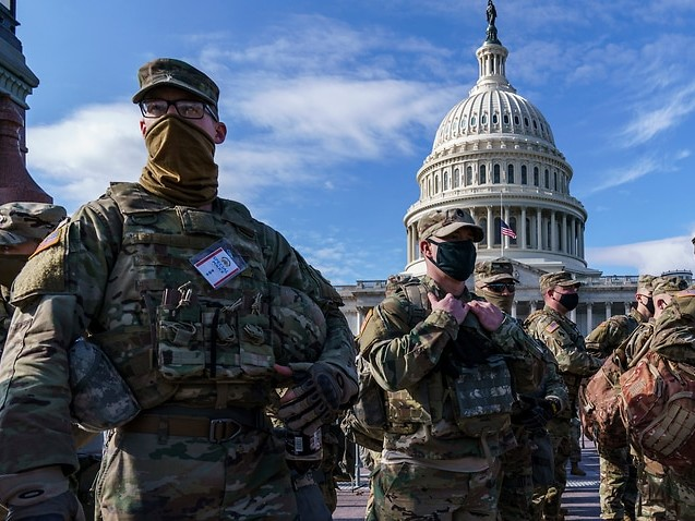 A dozen National Guard members have been pulled from the Biden inauguration over right-wing militia ties