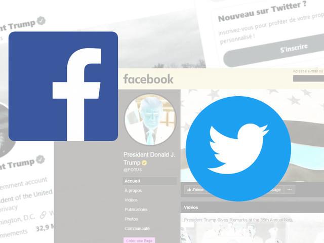 Twitter et Facebook sont parés pour transmettre les comptes présidentiels à Joe Biden