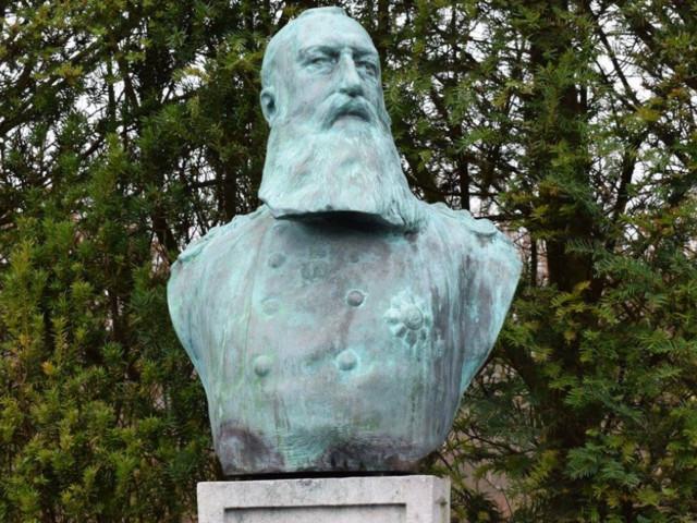 La statue de Léopold II à Enghien a été volée