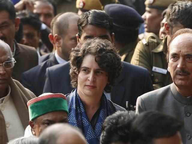 La petite-fille d'Indira Gandhi tête d'affiche des futures élections