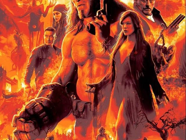 Hellboy : Les Quatre Posters de l'Apocalypse et un premier extrait !