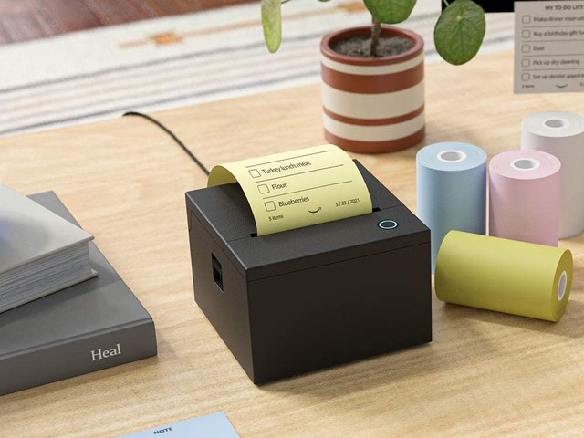 Smart Sticky Note Printer : une imprimante de notes autocollantes compatible Alexa chez Amazon