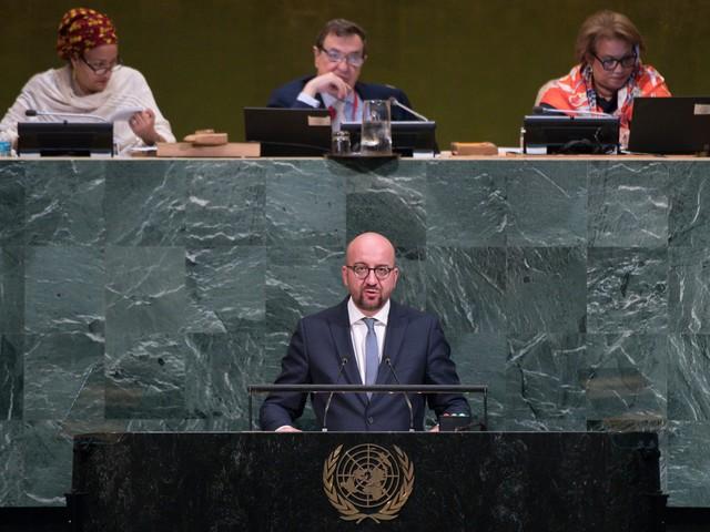 Michel s'oppose à Trump à l'ONU