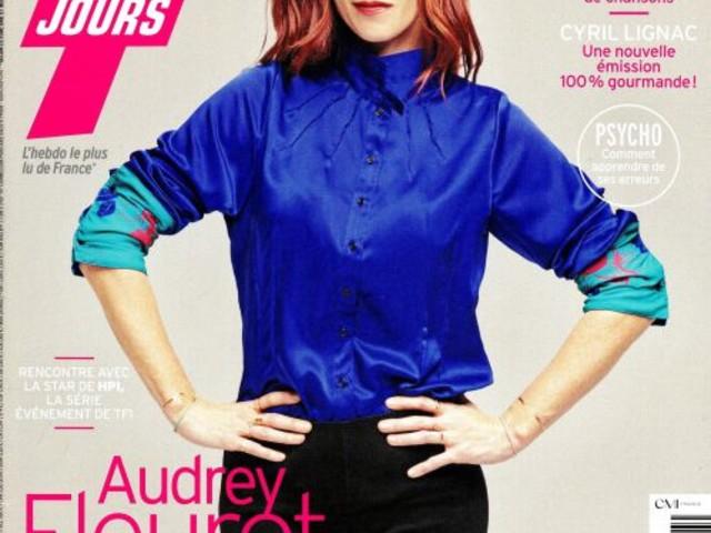 La une des nouveaux numéros de la presse TV : Audrey Fleurot, Sheila, Cyril Lignac...