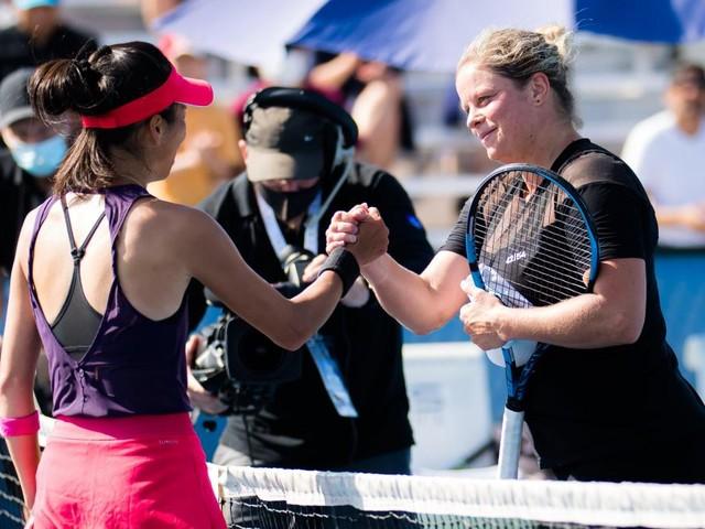 Kim Clijsters battue par Hsieh au tournoi de Chicago: «J'ai été trop irrégulière»