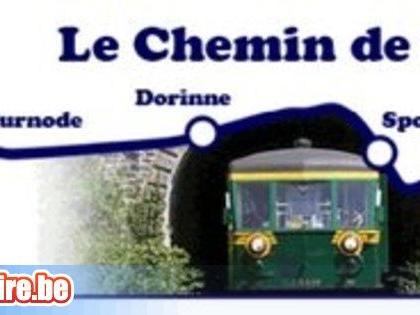 En train touristique entre Ciney, Sponti n et Bauche