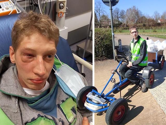 Jongeren slaan man met mentale beperking in elkaar in Lommels park