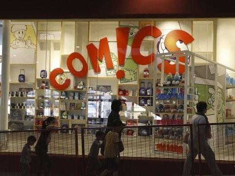 Comics Station onder bescherming tegen schuldeisers